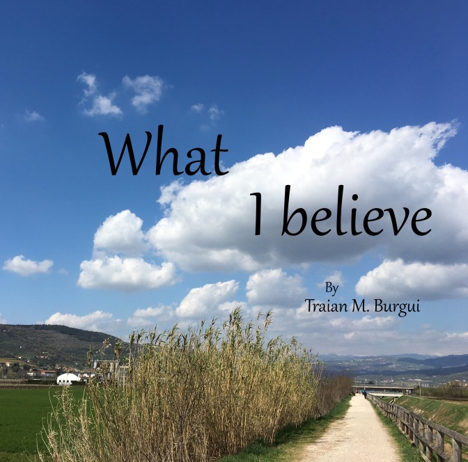 What I believe